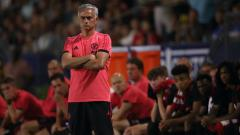 Indosport - Pelatih Manchester United, Jose Mourinho.