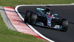 Indosport - Lewis Hamilton di GP Hungaria.