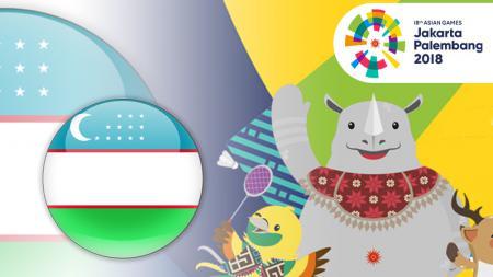 Uzbekistan di Asian Games 2018. - INDOSPORT