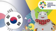 Indosport - Korea Selatan Asian Games 2018
