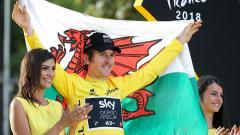 Indosport - Geraint Thomas, juara Tour de France 2018.