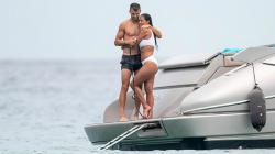 Nicole Scherzinger dan Grigor Dimitrov saat liburan.