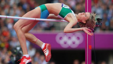 Atlet lompat tinggi, Svetlana Radzivil. - INDOSPORT