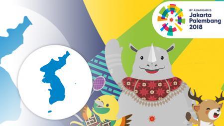 Korea Utara dan Selatan Asian Games 2018 - INDOSPORT