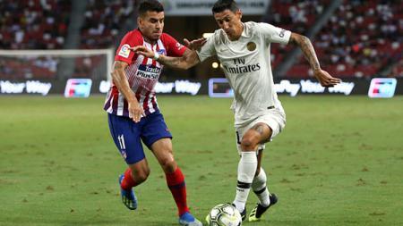 AC Milan mendapat kepastian dari Atletico Madrid soal buruan mereka, Angel Correa (kiri). - INDOSPORT