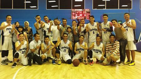 Tim Bola Basket TNI AU juara ketiga Adhyaksa Cup 2018. - INDOSPORT
