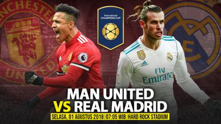 Manchester United vs Real Madrid. - INDOSPORT