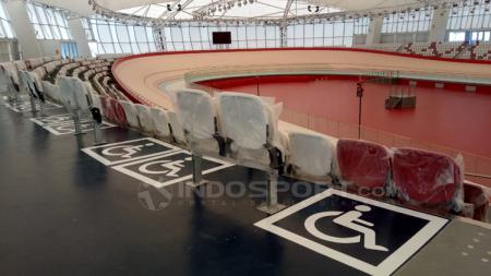 Velodrome Rawamangun siap digunakan pada Asian Games 2018. - INDOSPORT