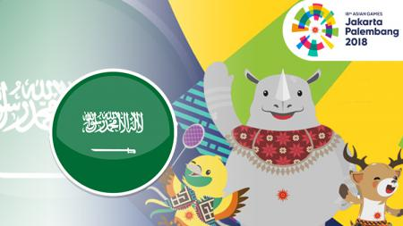 Arab Saudi Asian Games 2018. - INDOSPORT