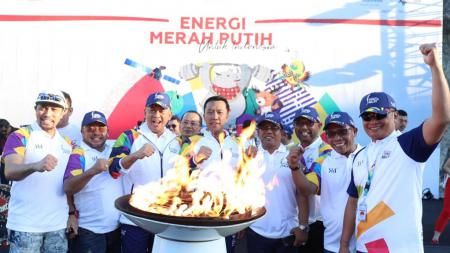 Kirap Obor Asian Mages 2018 di Bali - INDOSPORT