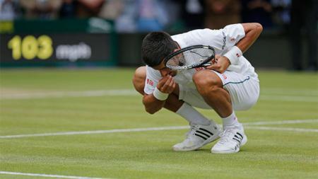 Ritual Petenis Serbia, Novak Djokovic usai Memenangkan Gelar All England Club - INDOSPORT