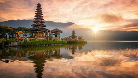 Bali salah satu destinasi wisata di Indonesia yang memiliki pemandangan indah. - INDOSPORT