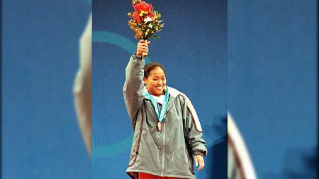 Mantan atlet angkat besi Sri Winarni (18/09/2000). - INDOSPORT