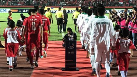 Myanmar U-16 vs Indonesia U-16 di Piala AFF U-16 2018. - INDOSPORT