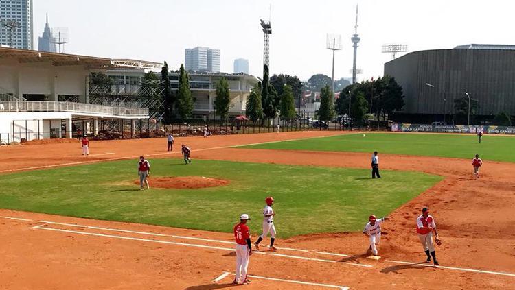 Lapangan Softball dan Baseball Senayan Copyright: Istimewa
