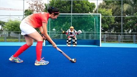 Lapangan hoki Senayan yang akan digunakan di ajang Asian Games 2018. - INDOSPORT