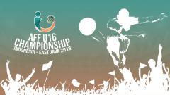 Indosport - Logo Piala AFF U16 2018.