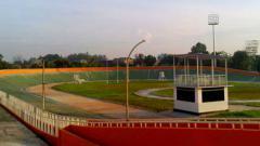 Indosport - Lapangan baseball Rawamangun.