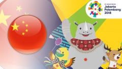 Indosport - China Asian Games 2018.