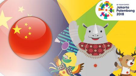 China di Asian Games 2018. - INDOSPORT