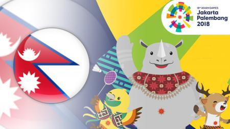 Nepal Asian Games 2018. - INDOSPORT