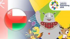 Indosport - Oman di Asian Games 2018.