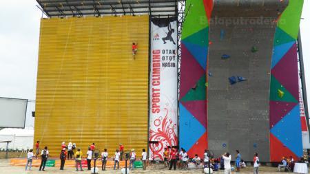 Arena Panjat Tebing Jakabaring. - INDOSPORT