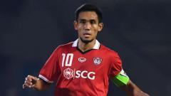 Indosport - Mengenal sosok Teerasil Dangda, salah satu eks Muangthong United jebolan Manchester City yang bisa menjadi panutan Febri Hariyadi.