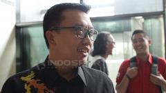 Indosport - Menpora Imam Nahrawi pantau pemusatan latihan Timnas Basket Indonesia.