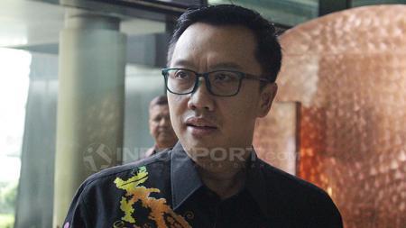 Menpora Imam Nahrawi pantau pemusatan latihan Timnas Basket Indonesia. - INDOSPORT