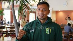 Indosport - Bejo sugiantoro saat diperkenalkan sebagai pelatih caretaker.