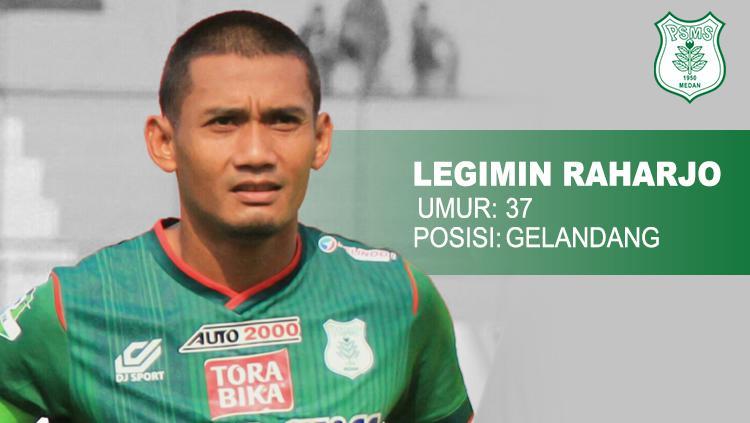 Bhayangkara FC vs PSMS Medan Legimin Raharjo. Copyright: INDOSPORT