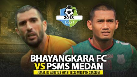 Bhayangkara FC vs PSMS Medan. - INDOSPORT
