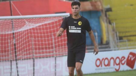 Mantan pemain asing Sriwijaya FC, Alan Hendrique - INDOSPORT