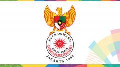 Indosport - Logo Asian Games 1962.