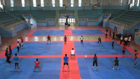 GOR POPKI, venue Asian Games 2018 untuk cabor bola tangan. - INDOSPORT