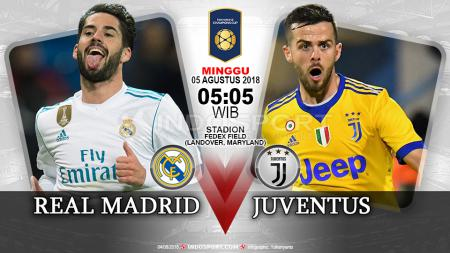 Real Madrid vs Juventus (Prediksi) - INDOSPORT