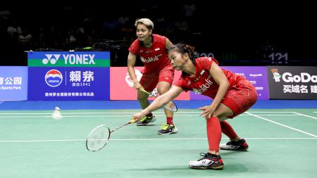 Greysia Polii/Apriyani Rahayu, wakil ganda putri Indonesia di Kejuaraan Dunia 2018. - INDOSPORT