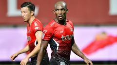 Indosport - Pemain yang diisukan ke Persib, Jaycee John, saat beraksi di atas lapangan.