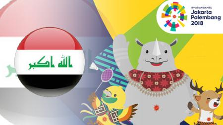 Irak Asian Games 2018. - INDOSPORT