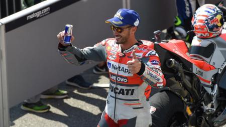 Andrea Dovizioso, pembalap MotoGP dari Tim Ducati. - INDOSPORT