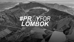 Indosport - PrayForLombok.