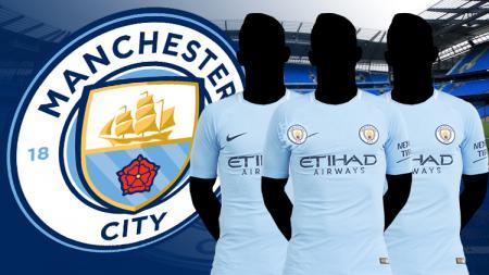 Tiga gelandang bisa didatangkan Man City. - INDOSPORT