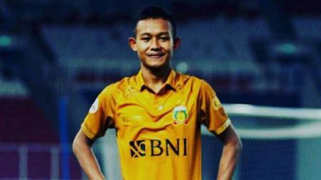 Gelandang Bhayangkara FC, Sani Rizki Fauzi1. - INDOSPORT