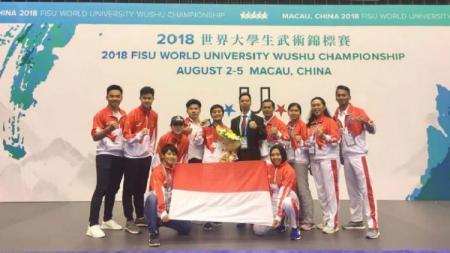 Wushu Mahasiswa indonesia - INDOSPORT