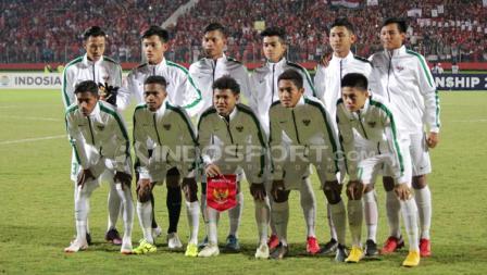 Skuat Timnas Indonesia U16.