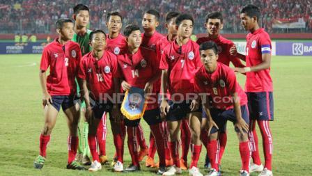 Skuat Timnas Kamboja U16.