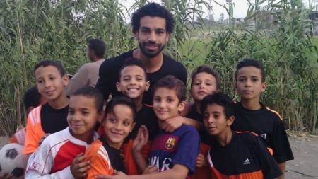 Mohamed Salah bangun sekolah untuk anak-anak. - INDOSPORT
