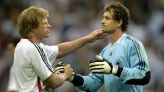 Indosport - Oliver Kahn (kiri) ditunjuk sebagai CEO Bayern Munchen.
