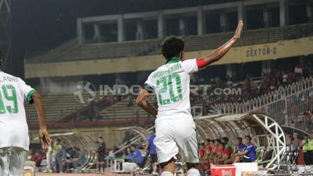 Tepat dua tahun lalu, wonderkid sepak bola Tanah Air, Amiruddin Bagus Kahfi Al-Fikri menjadi top skorer di ajang Piala AFF U-16 2018. - INDOSPORT